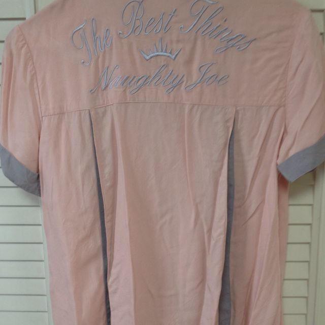 abc une face(アーベーセーアンフェイス)のレーヨンシャツ レディースのトップス(シャツ/ブラウス(半袖/袖なし))の商品写真