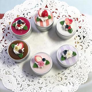 選べる6種類☆petitケーキのアルミ缶ケース(雑貨)