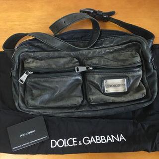 ドルチェアンドガッバーナ(DOLCE&GABBANA)の送料無料【DOLCE&GABBANA】ボディバッグ ウエスト ショルダー 正規品(その他)