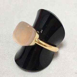 ポメラート(Pomellato)のポメラート ヌードリング ローズクォーツ 約12号 K18YG 保証書付(リング(指輪))