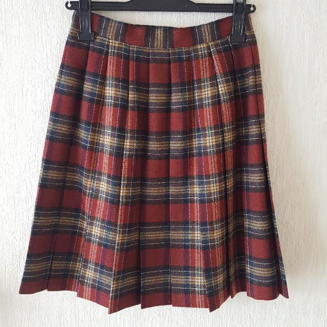 EASTBOY(イーストボーイ)のEASTBOY タータンチェックスカート レディースのスカート(ひざ丈スカート)の商品写真
