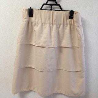 プーラフリーム(pour la frime)のプーラフリーム/3段フリルスカート(ひざ丈スカート)