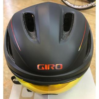 GIRO VANQUISH MIPS AF 単色黒  Lサイズエアロヘルメット(ウエア)