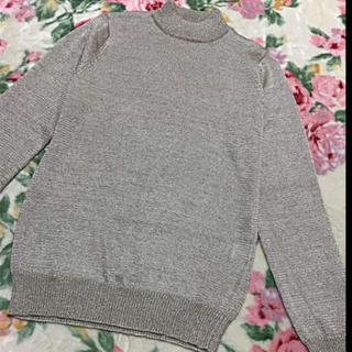 アーモワールカプリス(armoire caprice)のゴールド 長袖 ニットセーター (ニット/セーター)