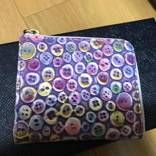 ◆新品◆ボタン柄 カードケース(名刺入れ/定期入れ)