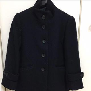 ムジルシリョウヒン(MUJI (無印良品))の新品!無印良品 ショート丈コート(ピーコート)