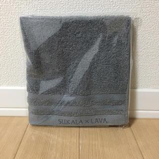 ルルレモン(lululemon)の【新品】LAVA×SUKARA オリジナルタオル グレー(ヨガ)
