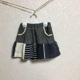 シマムラ(しまむら)の美品 conoco キュロットスカート birthday(スカート)
