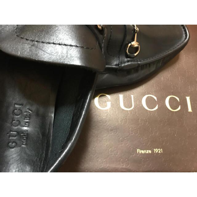 JIMMY CHOO(ジミーチュウ)のグッチ GUCCI ドライビングシューズ 黒 / ジミーチュウ 好きに! メンズの靴/シューズ(スリッポン/モカシン)の商品写真