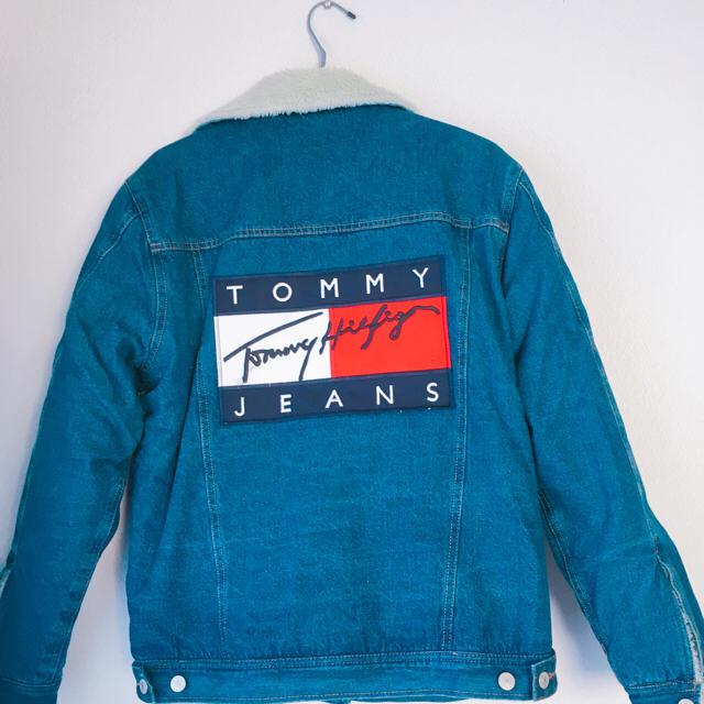 TOMMY HILFIGER(トミーヒルフィガー)のトミーヒルフィガー ボアデニムジャケット メンズのジャケット/アウター(Gジャン/デニムジャケット)の商品写真