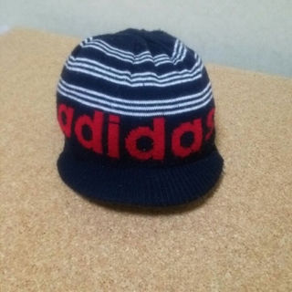 アディダス(adidas)の★adidasキッズニット帽(帽子)
