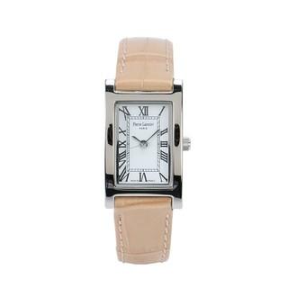 ピエールラニエ(Pierre Lannier)の腕時計 クロコ型押しベージュ(腕時計)