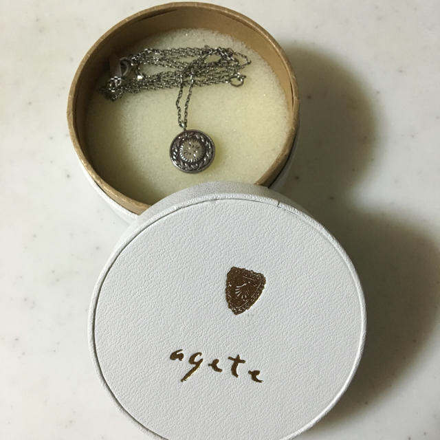 agete(アガット)のアガットのネックレス メンズのアクセサリー(ネックレス)の商品写真