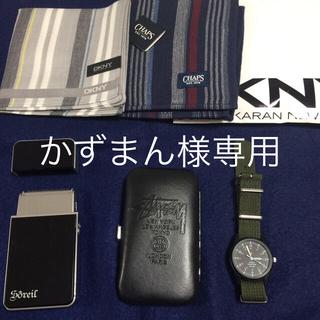 ポーター(PORTER)の時計、ハンカチ2枚、簡易髭剃り、グルーミングセット(腕時計(アナログ))