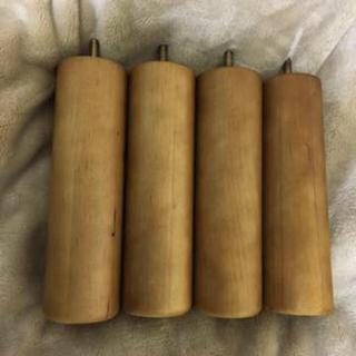 ムジルシリョウヒン(MUJI (無印良品))の無印良品 脚付マットレス用 脚 20cm(脚付きマットレスベッド)