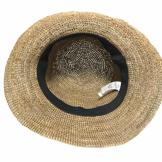 MUJI (無印良品)(ムジルシリョウヒン)の【美品】無印良品♡麦わら帽子 レディースの帽子(麦わら帽子/ストローハット)の商品写真