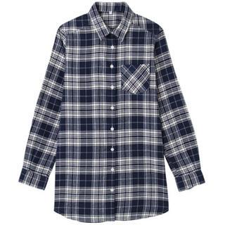 ムジルシリョウヒン(MUJI (無印良品))のダウンベスト×シャツ  2点セット(ダウンベスト)