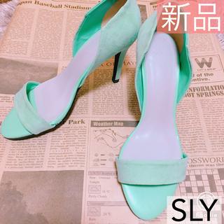 スライ(SLY)の【送料無料】新品♡ SLY  ヒール(サンダル)