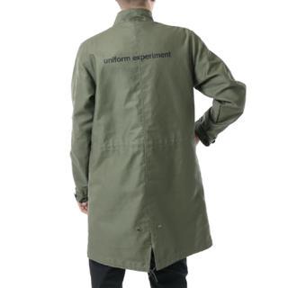 ユニフォームエクスペリメント(uniform experiment)のuniform experiment ミリタリージャケット カーキ 2(ミリタリージャケット)