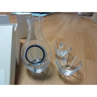 トウヨウササキガラス(東洋佐々木ガラス)のササキガラス 冷酒瓶・グラスセット(アルコールグッズ)