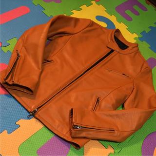 フーガ(FUGA)のレザージャケット シングルライダースジャケット(ライダースジャケット)