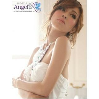 エンジェルアール(AngelR)のAngelR ミニドレス♥モカ(ミディアムドレス)