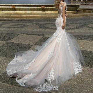 インポートマーメイドドレス(ウェディングドレス)