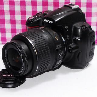 ニコン(Nikon)の❤綺麗な写真を撮ろう❤Nikon D5000 レンズキット⭐安心保証⭐(デジタル一眼)