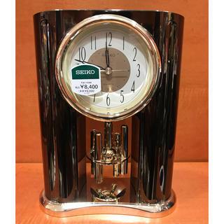 セイコー(SEIKO)のSEIKO BY504K 置き時計 ブラウン セイコー 新品☆(置時計)