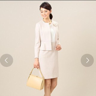 デミルクスビームス(Demi-Luxe BEAMS)の専用デミルクスビームス ツイードワンピーススーツ(スーツ)