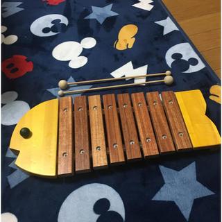 ボーネルンド(BorneLund)のボーネルンドの黄色のおさかなシロフォン(楽器のおもちゃ)