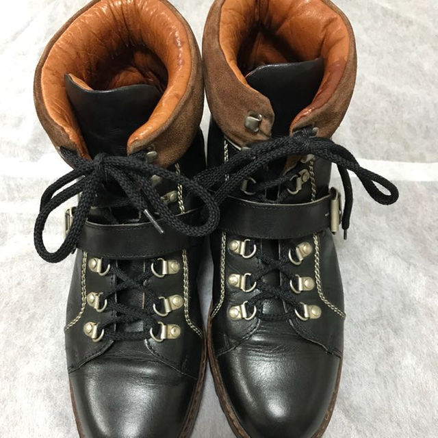 Gucci(グッチ)のGUCCI グッチ / コマンドブーツ (希少) メンズの靴/シューズ(ブーツ)の商品写真