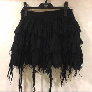 スティグマータ(STIGMATA)のstigmata ガーゼミニスカート Mサイズ(ひざ丈スカート)