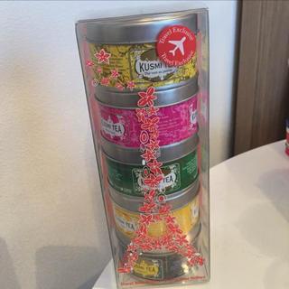新品未開封 クスミティー KUSMI TEA フランス限定デザイン 5缶セット(茶)