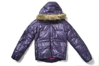 アディダス(adidas)の◇adidas◇sizeM downJKT purple(ダウンジャケット)