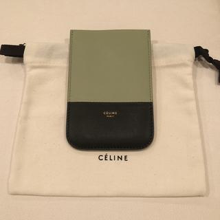 セリーヌ(celine)の期間限定お値下げ!【新品・未使用】iPhoneケース 携帯ケース カードケース(モバイルケース/カバー)