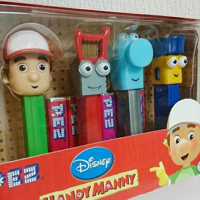 PEZ HANDY MANNY ディズニー お...