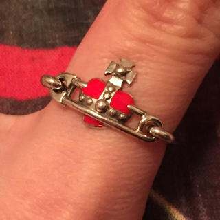 ヴィヴィアンウエストウッド(Vivienne Westwood)のナノハートセーフティピンリング 10.5号〜11号(リング(指輪))