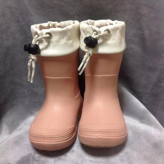 ムジルシリョウヒン(MUJI (無印良品))のキッズレインブーツ(長靴/レインシューズ)