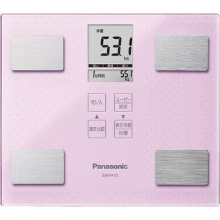 パナソニック(Panasonic)の⭐︎⭐️SALE⭐︎ パナソニック 体重計 ピンク 可愛い 体脂肪計(体重計/体脂肪計)