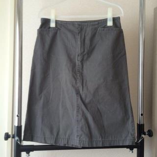 ムジルシリョウヒン(MUJI (無印良品))の無印良品  膝丈スカート(ひざ丈スカート)