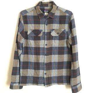 パタゴニア(patagonia)のPatagonia フィヨルドフランネルシャツ XS(シャツ)