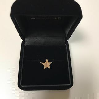 アッシュペーフランス(H.P.FRANCE)のH.P FRANCE  トーカティブ10k 星 ピンキーリング(リング(指輪))