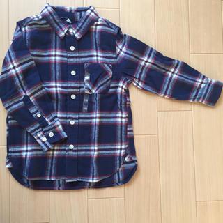 ムジルシリョウヒン(MUJI (無印良品))の新品・無印♡オーガニックコットンフランネルシャツ(ブラウス)