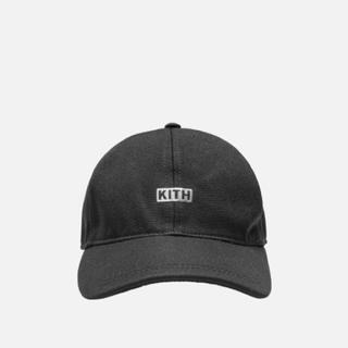 シュプリーム(Supreme)のKITH SILVER CLASSIC LOGO CAP Black(キャップ)