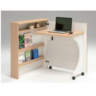 新品 折り畳み収納デスク 日本製(学習机)