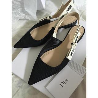 クリスチャンディオール(Christian Dior)のJadiorフラット(ミュール)