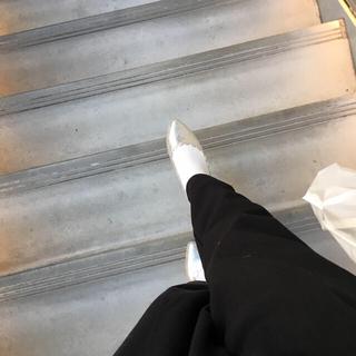 ダブルクローゼット(w closet)のスカラップフラットシューズ○(バレエシューズ)