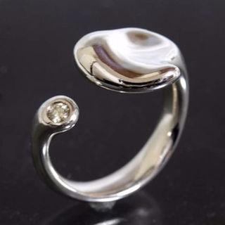 ティファニー(Tiffany & Co.)のティファニー フルハート 1P ダイヤ リング 9号 SV925 仕上済(リング(指輪))