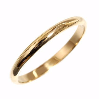 カルティエ(Cartier)のカルティエ シンプル リング size63 K18YG 新品仕上済 メンズ(リング(指輪))